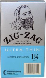 Zig-Zag Ultra Thin Natural Gum Arabic 1 1/4