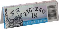 Zig Zag Ultra Thin Natural Gum Arabic 32 Leaves Pack