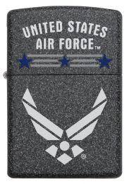 Zippo U.S. Air Force™ 29121 Lighter With Iron Stone Finish