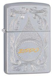 Zippo Gold Script Lighter Windproof 29512