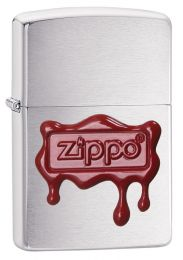 Zippo Red Wax Seal Lighter Wax Seal Stamp 29492