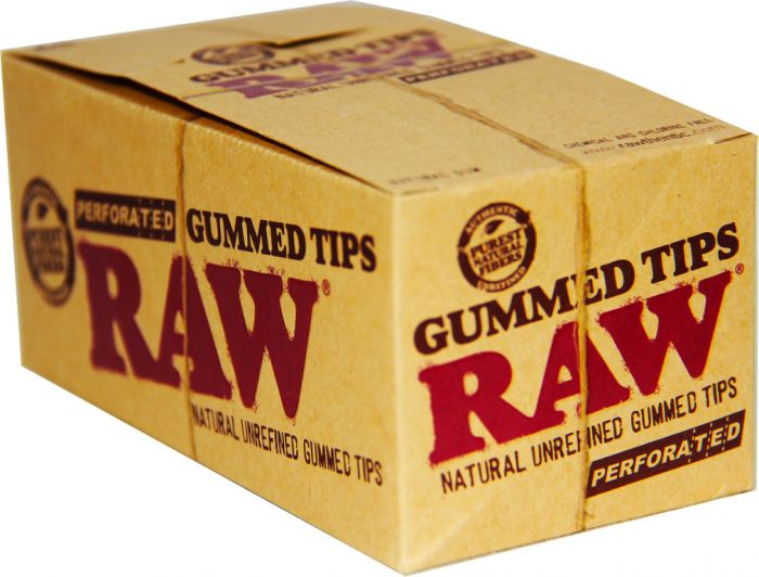 Raw Gummed Tips 24 Packs Per Box
