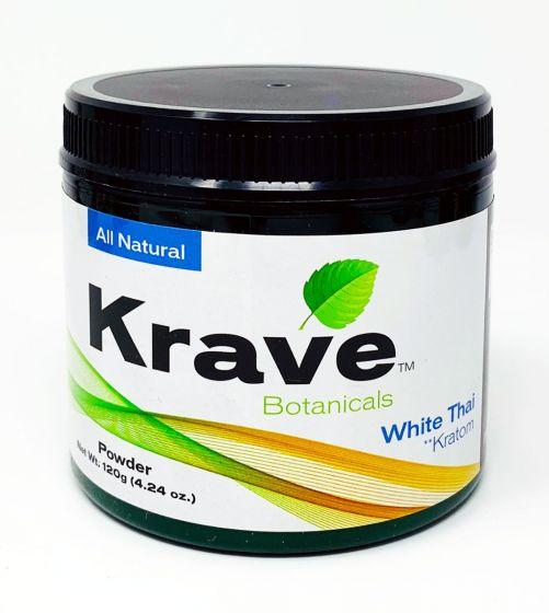 Krave Botanicals White Thai Kratom 120g