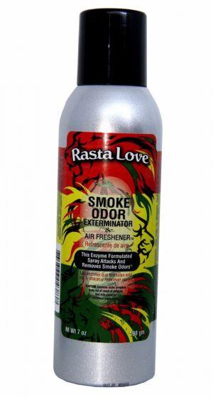 Rasta Love Smoke Odor Exterminator And Air Freshener 7 oz