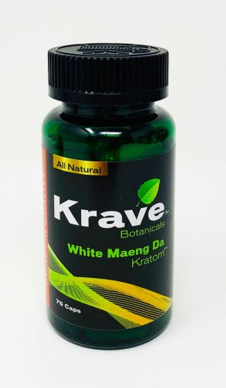 Krave Botanicals White Maeng Da Capsules
