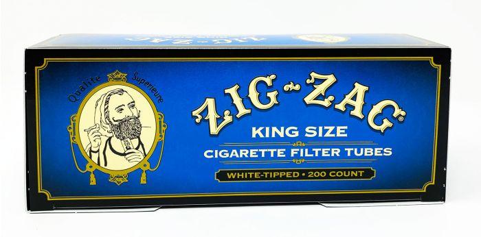 Zig Zag King Size Cigarette Filter Tubes