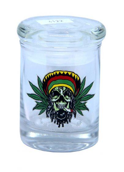 Skull And Leaf 90ML Stash Jar