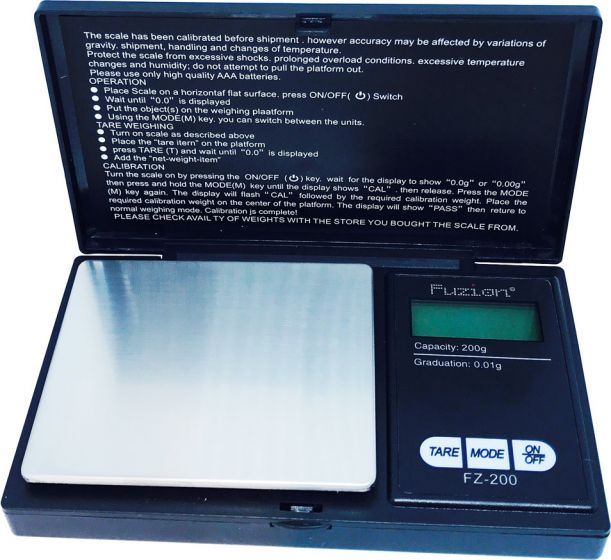Fuzion FZ200 Professional Digital Scale