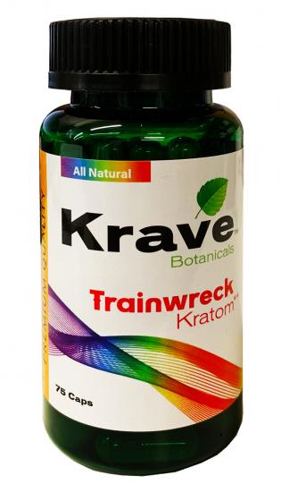 Krave Botanical Trainwreck Kratom
