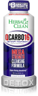 Herbal Clean QCarbo16 Same Day Detox Drink 16 oz. Grape Flavor