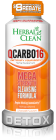 Herbal Clean QCarbo16 Same Day Detox Drink 16oz. Orange Flavor