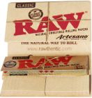 RAW Artesano Classic Natural Unrefined Rolling Papers Pack