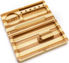 Raw Backflip Rolling Striped Bamboo Limited Edition Tray