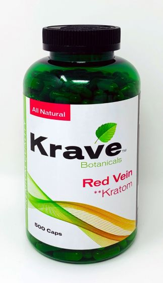 Krave Botanical Red Vein 500 Caps