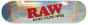 Raw Rolling Paper Skateboard Deck
