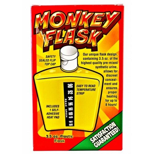Serious Monkey Flask Unisex Synthetic Urine Novelty Kit 3 5 Fluid Oz