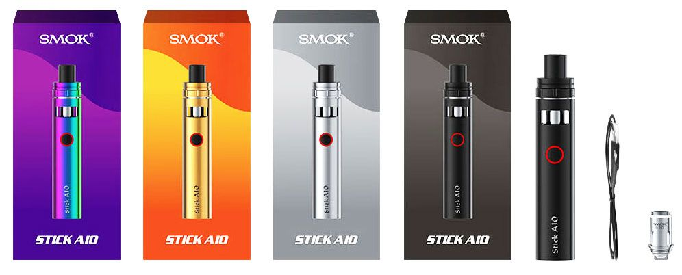 SMOK Stick AIO Pen Kit 1600mAH Rechargeable Built In Battery