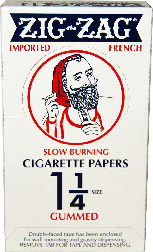 24pk Zig Zag Orange Slow-Burning 1 1//4 Rolling Papers