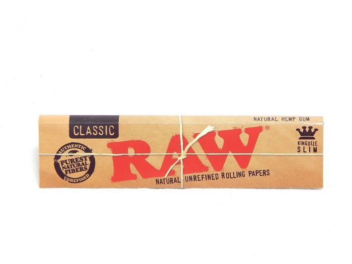 RAW Classic King Size Slim Natural Hemp