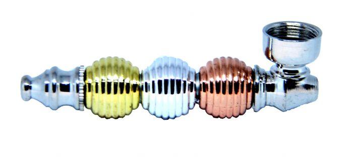 Multi Colored Sphere Metal Pipe