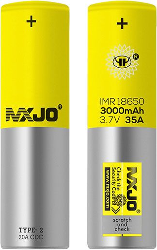 Mxjo imp 18650 3000mAH 3.7Volt 35A Rechargeable Battery