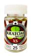 Kratom Bali Red XS 25 Capsules Per Bottle 900mg