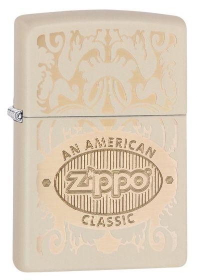 Zippo American Classic Cream Matte Lighter 28854