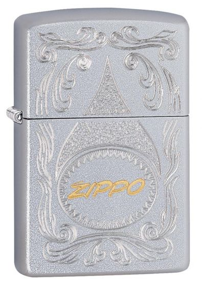 Zippo Gold Script Lighter Windproof 29512