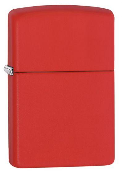 Zippo Regular Red Matte 233 Lighter