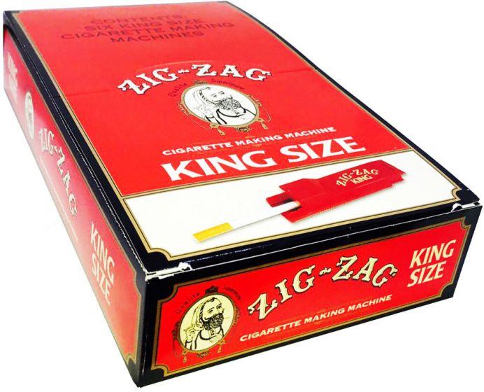 Zig Zag King Size Cigarette Injector Making Machine