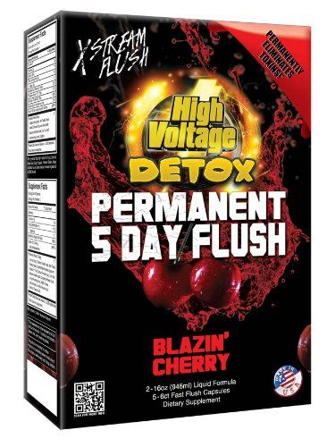 High Voltage Detox Permanent 5 Day Flush