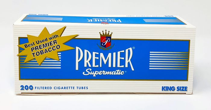 Premier Super Matic 200 Filtered Cigarette Tubes