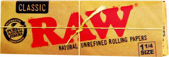 Raw Classic Authentic Unrefined Pack