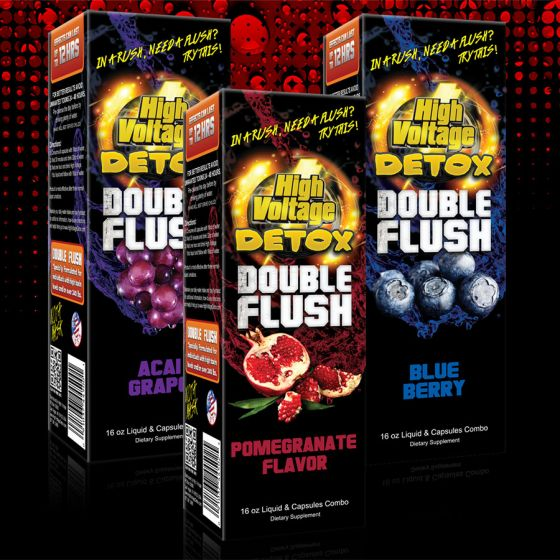 High Voltage Detox Double Flush Multi Flavor