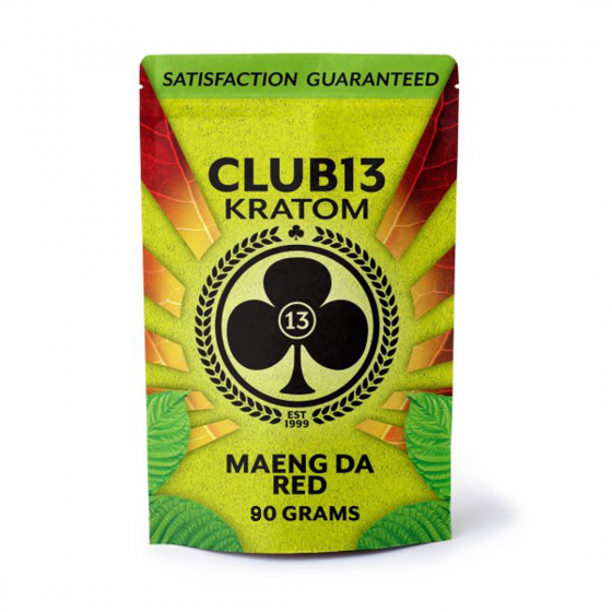 Club 13 Kratom Maeng Da Red Powder