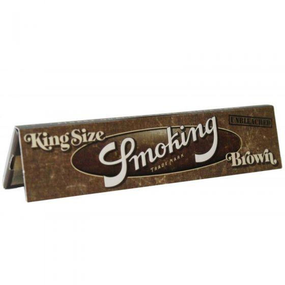 Smoking King Size Slim Brown Hemp Rolling Papers