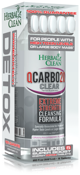Herbal Clean Qcarbo20 With 5 Tablets