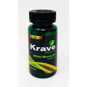 Krave Botanicals White Maeng Da Kratom 75 Caps