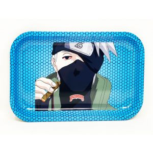 backwoods Aluminum Rolling Tray Blue Color