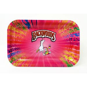 "Backwoods Unicorn Rolling Tray Medium Size 11""x7"""