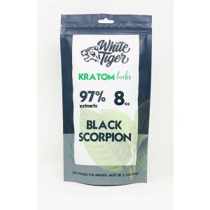 White Tiger Kratom Herbs 8 Oz Powder Black Scorpion