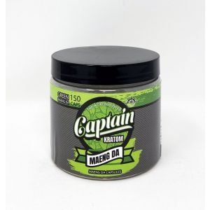 Captain Kratom Green Meang DA 300 Caps  100% Natural