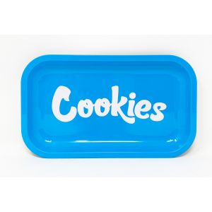 Cookies Metal Rolling Trays Large Blue Color