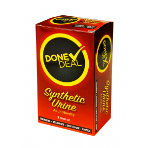 Done Deal Synthetic Urine Adult Novelty 3 Fl Oz