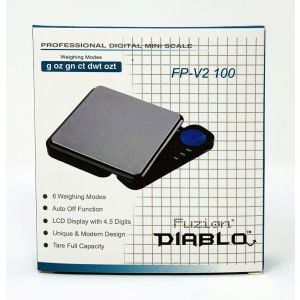 Fuzion Diablo FP-V2 100 Mini Digital Pocket Scale 100gx0.01g