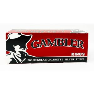 Gambler 200 Regular Cigarette Filter Tubes Kings