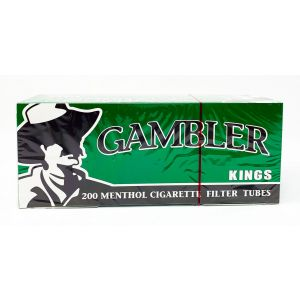 Gambler 200 Menthol Cigarette Filter Tube King Size