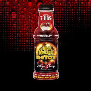 High Voltage Detox Multi Flavor 16oz Bottle
