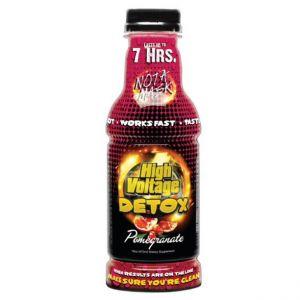 High Voltage Detox Pomegranate 16oz Bottle