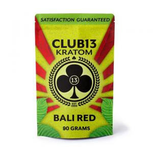Club13 Kratom Bali Red 90 Grams Pack